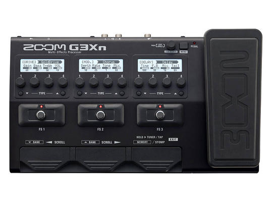 Zoom G3Xn Guitar Multi Effects Processor