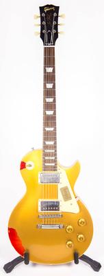 Gibson Custom Shop Les Paul Standard »Painted Over» Gold over Sunburst Limited Run 2017