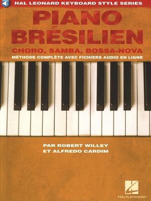 Piano brésilien Livre + Audio online /  / Hal Leonard