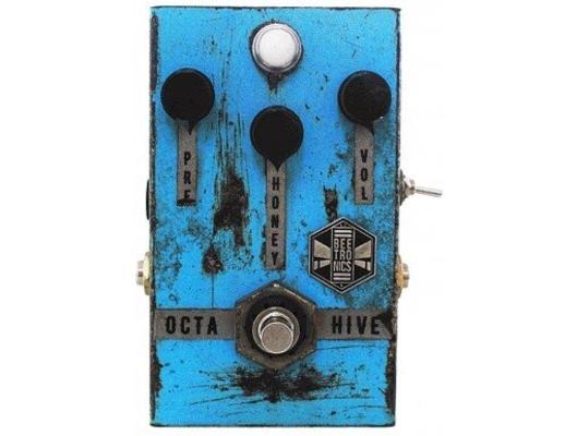 Beetronics Octahive Standard Pedal Blue High Gain Fuzz, High Pitch Octave