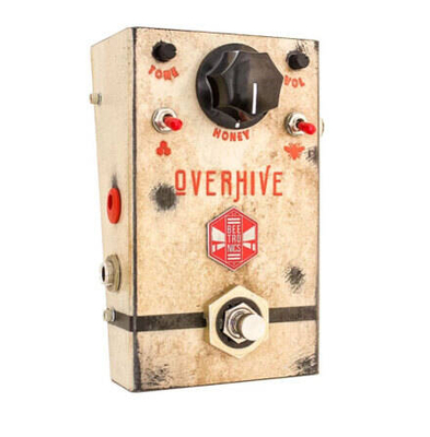 Beetronics Overhive Standard Pedal Cream Overdrive