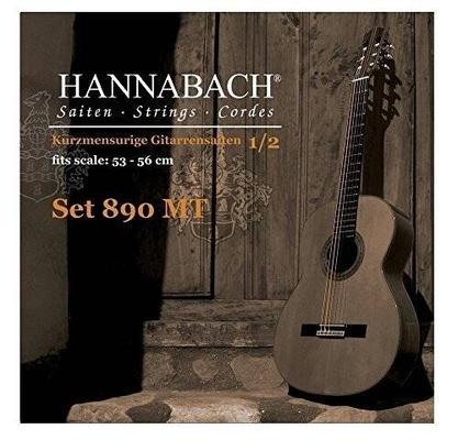 Hannabach 890MT Set 1/2 Tension Moyenne