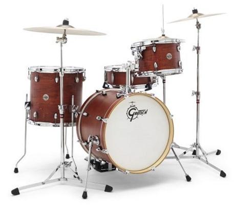 Gretsch Drums Shellpack Catalina club 12»x8» TT / 14»x12» FT / 18 ' BD / 14»x5,5» SDA cajou sans hardware