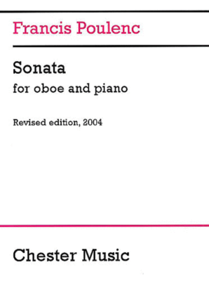 Poulenc Sonata for Oboe and Piano /  / Chester