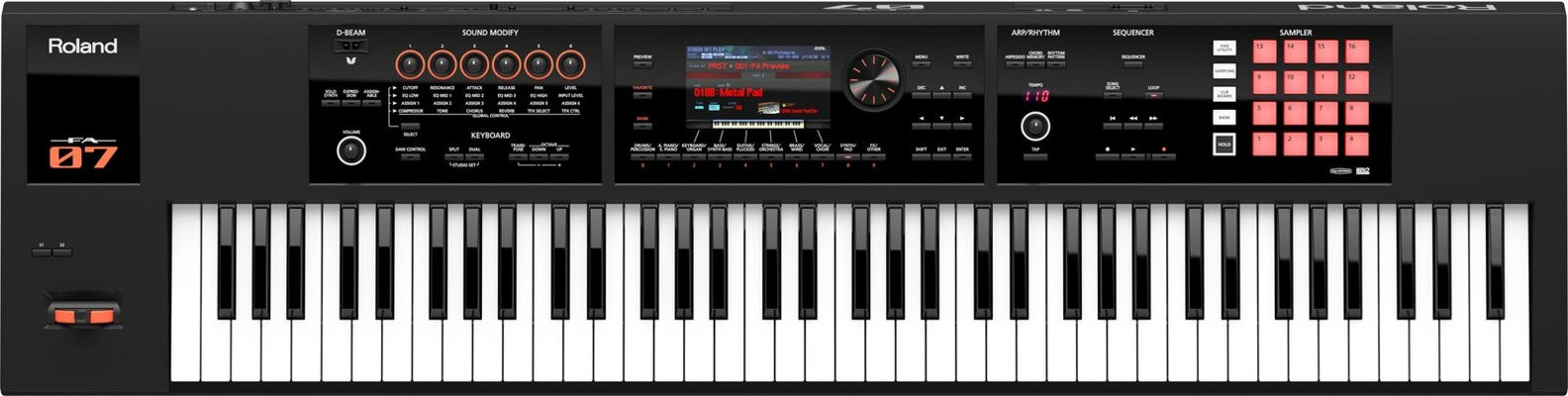 Roland FA-07 Music Workstation