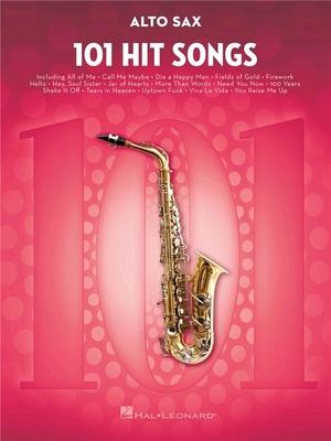 101 Hit Songs For Alto Saxophone /  / Hal Leonard