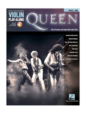 Queen : Violin Play-Along – Volume 68 /  / Hal Leonard