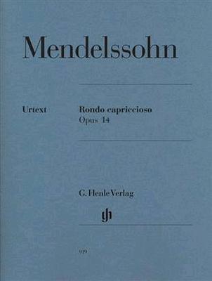 Rondo Capriccioso Opus 14 / Felix Mendelssohn Bartholdy / Henle Verlag