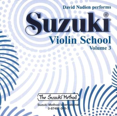 Suzuki Violin School vol. 3 le CD / Suzuki Shinichi / Alfred Publishing