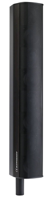 Audiophony iLINE83B Colonne 160W sous 16 Ohms avec 8 haut-parleurs 3 pouces embase connectrice empilable