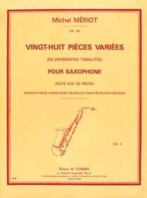 28 pièces variées Tome II M. Mériot /  / Combre