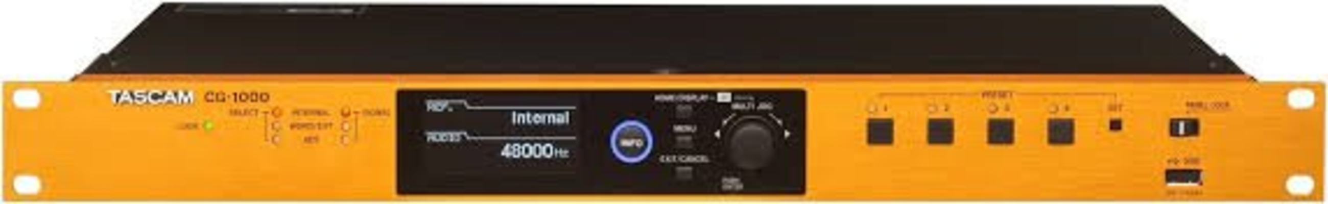 Tascam CG-1000 Master Clock Generator for Recording Studios12 WC Out 2x AES3/AES11 Out 2x SPDIF Out
