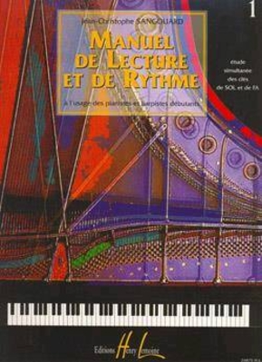 Manuel de lecture et de rythme Vol.1 / SANGOUARD Jean-Christophe / Henry Lemoine