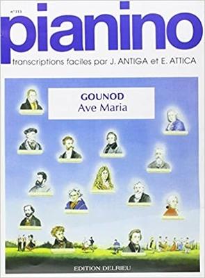 Pianino / Ave Maria / Gounod Charles / Delrieu