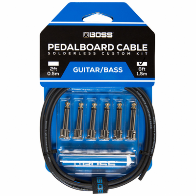 Boss BCK-6 Pedal Board Cable Kit 6 Connect.1.8