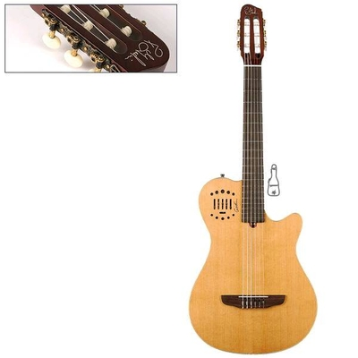 Godin MultiAc Grand Concert Duet Ambience Natural HG with Bag