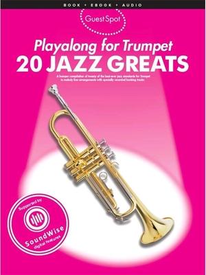 Guest Spot / Guest Spot: 20 Jazz Greats    Wise Publications Trumpet Recueil + Enregistrement(s) en ligne /  / Wise Publications