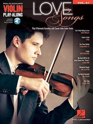 Love Songs: Violin Play-Along Volume 67 /  / Hal Leonard