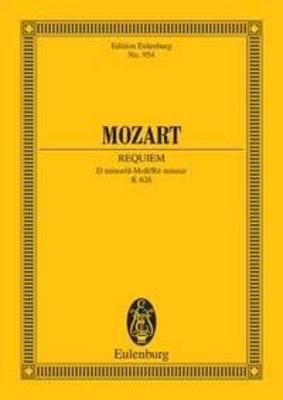 Requiem KV 626 / W.A. Mozart / Eulenburg