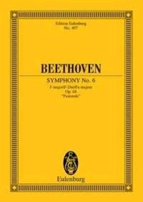 Symphonie 06 F Op.68 / L.V.Beethoven / Eulenburg