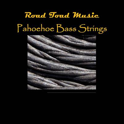 Kala Road Toad Music Pahoehoe U-Bass String Set 4-String Black
