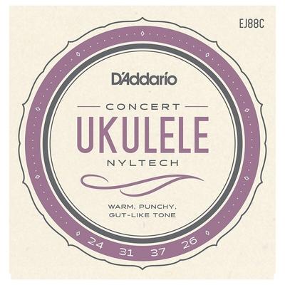 D'Addario Concert »Nyltech» (Aquila) .024-.026 Natural Nylon