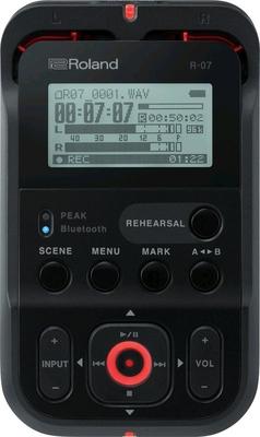 Roland R-07 (BK) Portable Audio Recorder Black