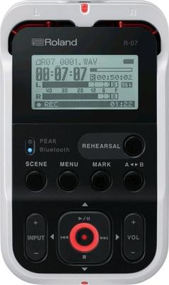 Roland R-07 (WH) Portable Audio Recorder White