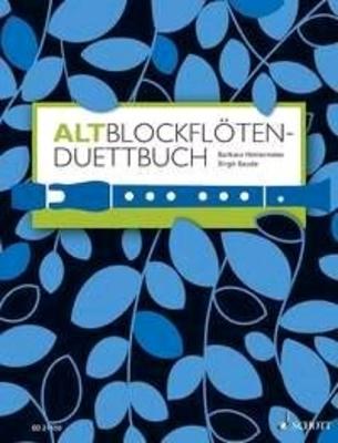 Duettbuch für Altblockflöten / Barbara Hintermeier / Schott