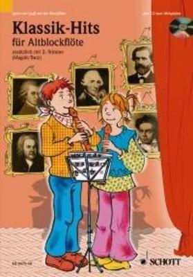 Klassik Hits Duetts Livre + CD / Rainer Butz/Hans Magolt / Schott