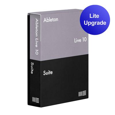 Ableton Live 10 Suite Edition Upgrade pour Live Lite