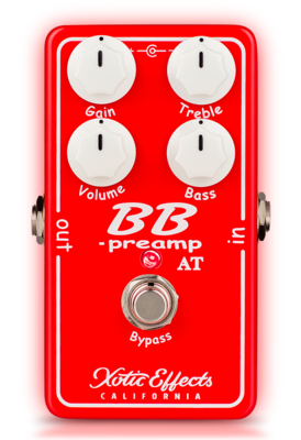 Xotic BB Preamp Andy Timmons Limited Edition