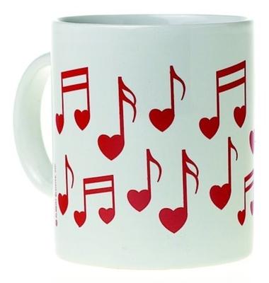 AIM  Heart Note Mug