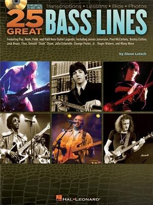 25 GREAT BASS LINES /  / Hal Leonard