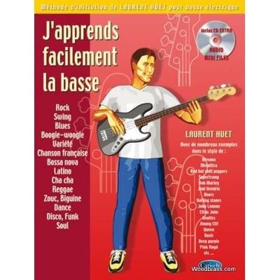 Carisch Professional Books / J'apprends Facilement La Basse Laurent Huet / Laurent Huet / Carisch