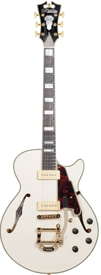 D'angelico New York EXCEL SS Shoreline (with Bigsby) VINTAGE WHITE