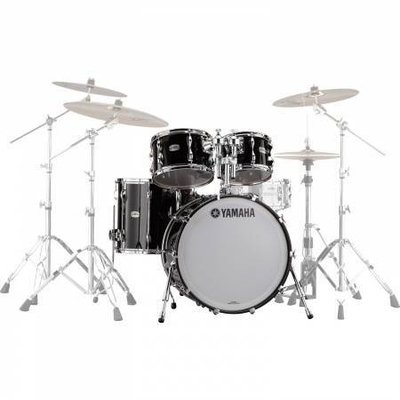 Yamaha Percussions Rock Set Recording Custom Solid Black