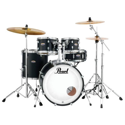 Pearl Decade Maple Satin Slate Black 22×18/10×07/12×08/16×16/14×5.5 + Hardware Pack HWP-830