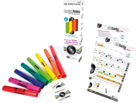 Fuzeau Pack Boomwhackers Musical Tubes