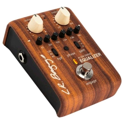 L.R. Baggs Equalizer – Align Series Acoustic Preamplifier with 6-Band EQ and Anti-feedback Notch Filter