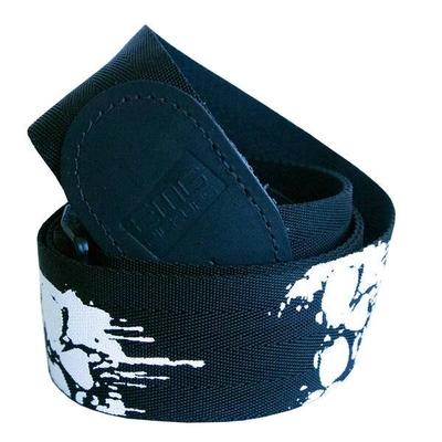 EMG Sangle en nylon 50mm EMG Custom Design Silkscreen Melting Skull
