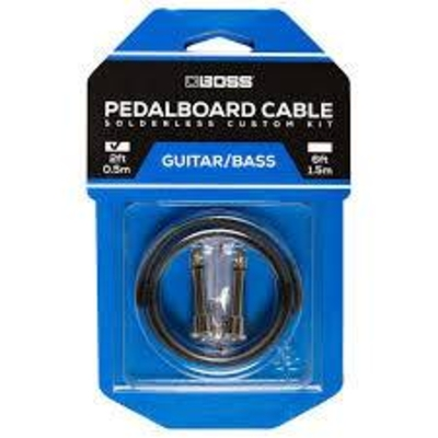 Boss BCK-2 Pedal board cable kit 2 con 0.5