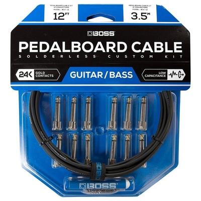 Boss BCK-12 Solderless Custom Kit – Ensemble de câbles de pédalier sans soudure