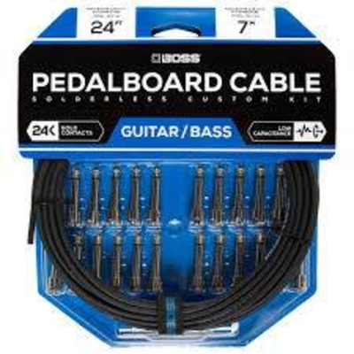 Boss BCK-24 Pedal board cable kit 24 con 7