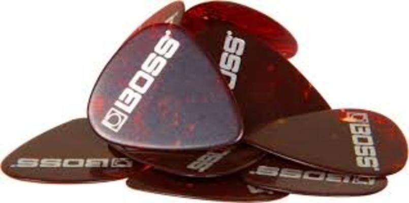 Boss BPK-12-SH Celluloid pick Heavy Shell 12