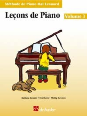 Méthode de Piano Hal Leonard / Leçons de Piano, volume 3 (avec Cd) Méthode de Piano Hal Leonard /  / De Haske