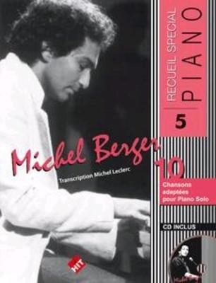 Recueil spécial piano / Recueil spécial piano no 5 / Michel Berger / Hit Diffusion