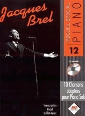 Recueil spécial piano / Recueil spécial piano no 12 / Jacques Brel / Hit Diffusion