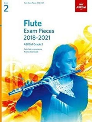 Flute Exam Pieces Grade 2 2018-2021 / Denley, Ian (Editor) / ABRSM Publishing