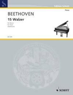 Walsen(15)  Ludwig van Beethoven  Klavier Buch  ED 438 / Ludwig van Beethoven / Schott
